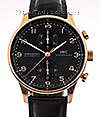 IWC | Portuguese Chronograph Automatic red gold | ref. 3714 - 15