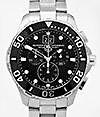 TAG HEUER | Aquaracer Grande Date Chronograph 43  | ref. CAN1010.BA 0821