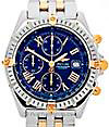BREITLING | Crosswind stainless steel/gold | ref. B 13355