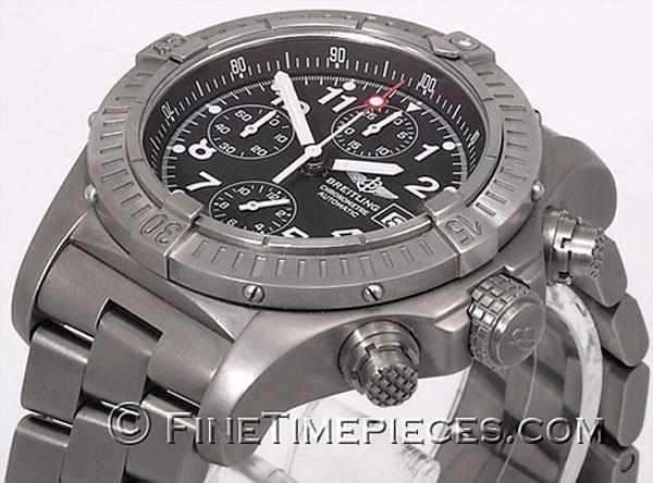 new product b3104 012c4 BREITLING   Chrono Avenger   ref. E13360   FINETIMEPIECES.COM
