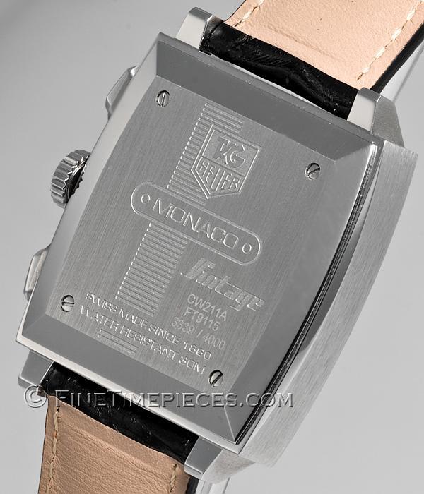 Vintage Heuer Monaco Uhr