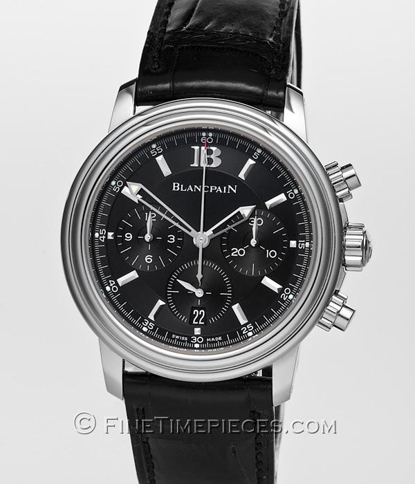 Blancpain Leman Flyback Chronograph Ref 2185 1130 53b Finetimepieces Com