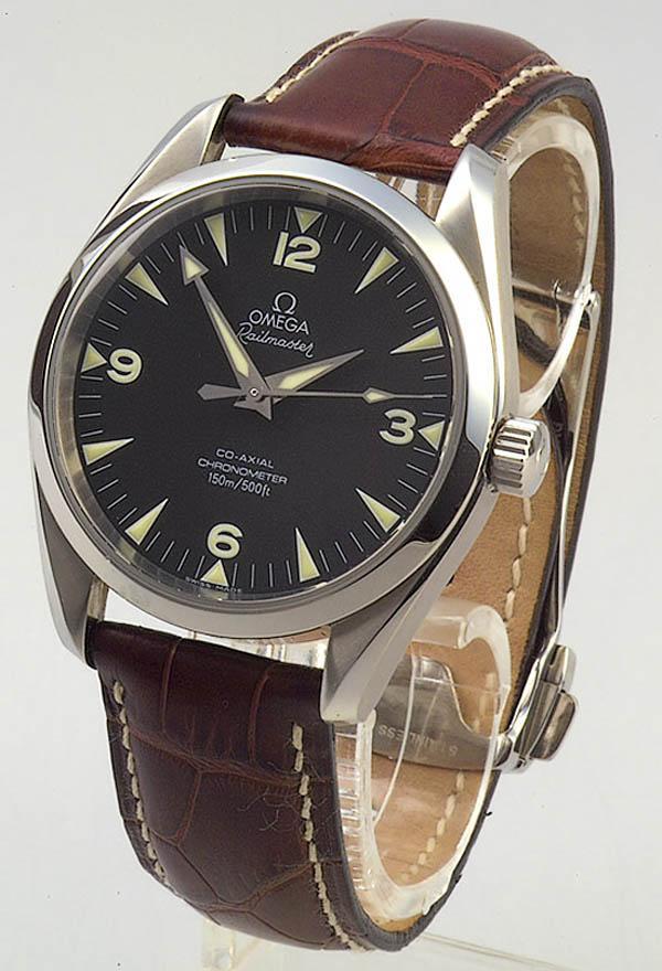 5390c3cfe8c Omega Seamaster Railmaster Watches « One More Soul