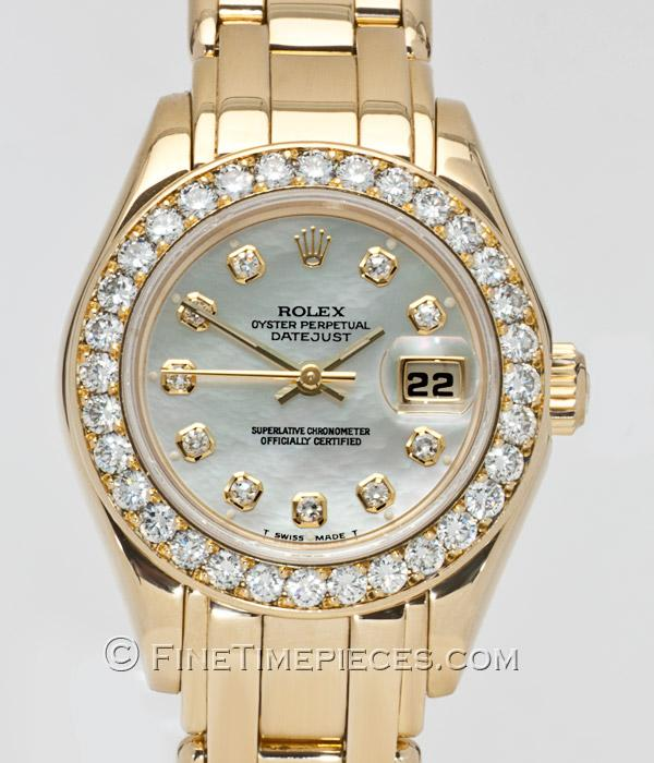 oyster perpetual lady datejust pearlmaster