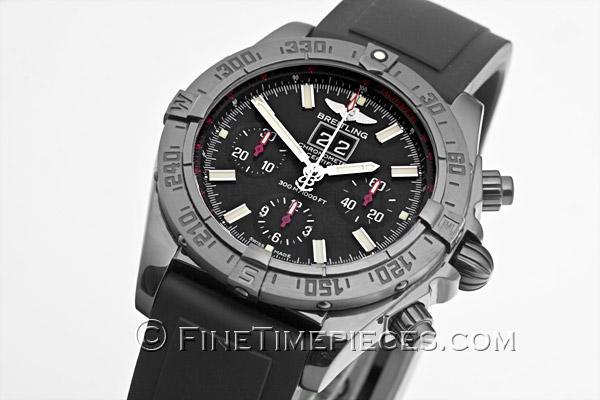 Breitling blackbird blacksteel limited edition watch m4435911.