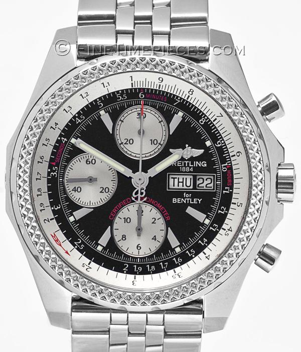 Breitling Bentley Gt Wristwatches: Breitling Bentley Special Edition A25362 Manufactured In