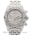 BREITLING | Chrono Cockpit Mother of Pearl Dial | ref. A13358-755
