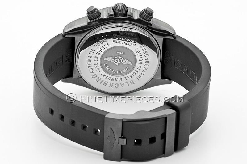 Breitling Blackbird Blacksteel Limited Edition Ref