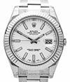 ROLEX | Oyster Perpetual Datejust II Stahl/Weißgold LC 312 | Ref. 116334