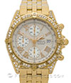 BREITLING | Crosswind Yellow Gold With Diamonds | Ref. K13355