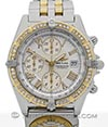BREITLING | Crosswind Stainless Steel/Gold With Diamonds and UTC Modulwatch | Ref. B13355
