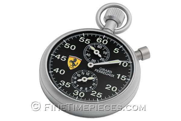 Girard Perregaux Pour Ferrari Sport Timer Ref 89600 0 12 6156 Uhren Fan De