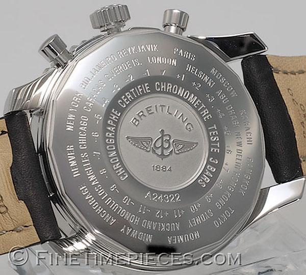 Breitling Navitimer World Ref A24322 Finetimepieces Com