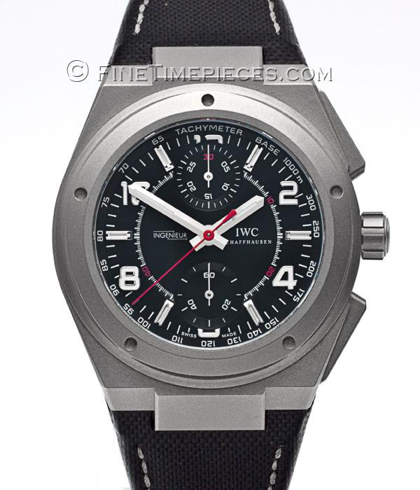 iwc ingenieur chronograph amg titan ref iw372504. Black Bedroom Furniture Sets. Home Design Ideas