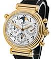 IWC   Da Vinci Perpetual Calendar Chronograph Rattrapante Rotgold   Ref. 3754-003