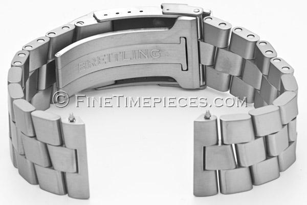meilleure vente guetter beau look BREITLING | titanium Professional II bracelet for 22 mm lugs ...
