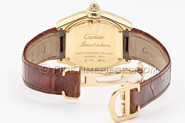 Cartier Watches Roadster Mens Images Ideas Types Of Smart