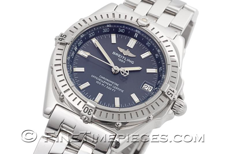 Breitling Windrider Wings Automatic Ref A10350 Finetimepieces Com