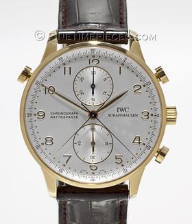 IWC | Portugieser Chronograph Rattrapante Gelbgold | Ref. 3712 - 11