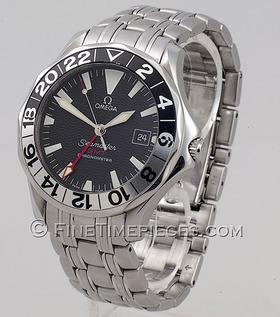 OMEGA   Seamaster GMT   Ref. 25345000