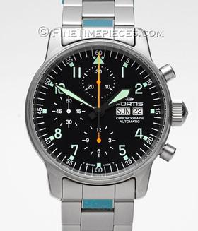 FORTIS | Flieger Chronograph | Ref. 597.10.11
