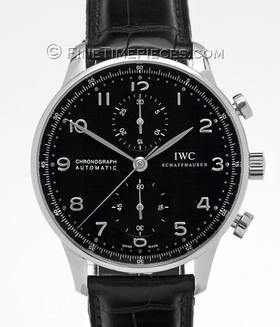 IWC | Portugieser Chronograph Automatic Edelstahl | Ref. IW371438