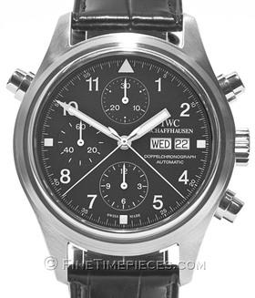 IWC | Fliegeruhr Doppelchronograph Klassik | Ref. 3713 - 003