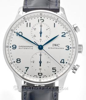 IWC | Portugieser Chronograph Automatic Edelstahl | Ref. 3714 - 17