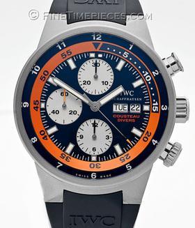 IWC | Aquatimer Chronograph Cousteau Divers | Ref. IW378101
