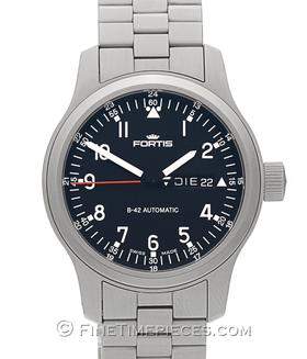 FORTIS | B-42  Pilot Day Date | Ref. 645.10.11M