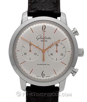 GLASHÜTTE ORIGINAL | Senator Sixties Chronograph Stahl | Ref.  39-34-03-22-04