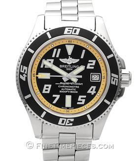 BREITLING | Superocean 42 Abyss Yellow | Ref. A1736402 BA32131A