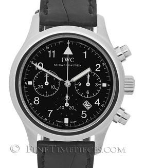 IWC | Fliegeruhr Chronograph Quarz m. Faltschließe - Service 08/2013 | Ref. 3741-001
