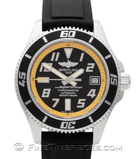 BREITLING | Superocean 42 Abyss Yellow | Ref. A1736402/BA3202/11
