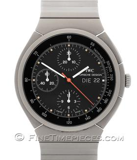 IWC | Porsche Design Automatic Titan Chronograph Bandgeometrie 3 | Ref. 3702-002