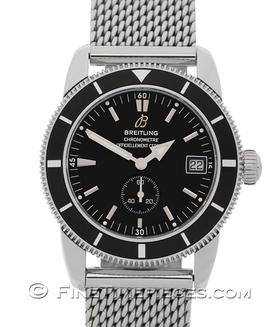 BREITLING | Superocean Heritage 38 Black | Ref. A37320/108