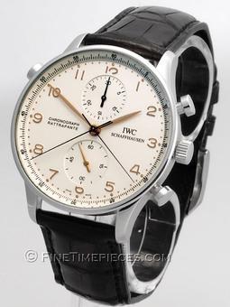 IWC | Portugieser Chronograph Rattrapante Edelstahl | Ref. 3712