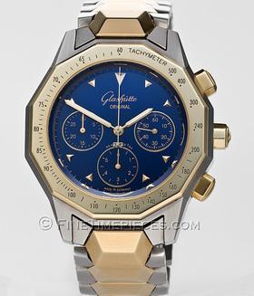 GLASHÜTTE ORIGINAL | Sport Chronograph Stahl/Gold | Ref. 10-66-12-11-04