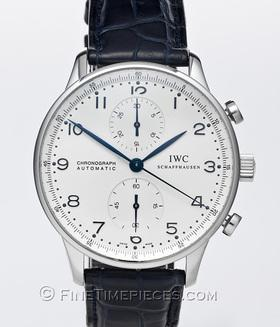 IWC | Portugieser Chronograph Automatic Edelstahl | Ref. 3714 - 17