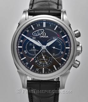OMEGA | De-Ville-Co-Axial-Chronoscope-GMT | Ref. 422.13.44.52.13.001