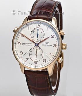 IWC | Portugieser Chronograph Rattrapante Rotgold | Ref. 3712