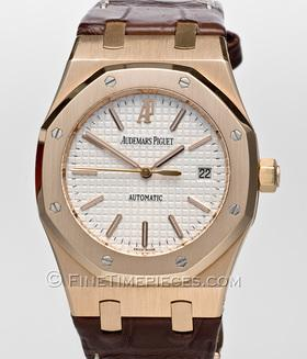 AUDEMARS PIGUET | Royal Oak Rotgold/Lederband | Ref. 15300OR.OO.D088CR.02