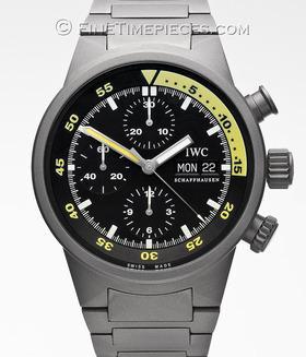 IWC | Aquatimer Chronograph Automatic Titan | Ref. 3719-03
