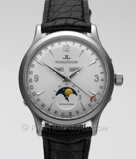 JAEGER-LeCOULTRE | Master Control Moon *1000 Hours* Stahl | Ref. 140.840.982 AB
