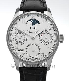 IWC | Portugieser Perpetual Calendar Platin | Ref. 5022 - 19