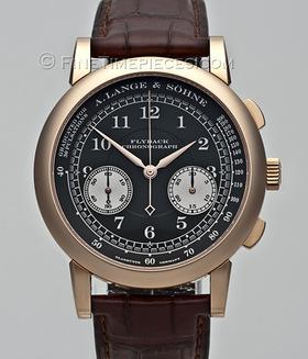 A. LANGE & SÖHNE | 1815 Chronograph Flyback Rotgold | Ref. 401 . 031