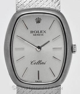 ROLEX | Cellini Lady Weißgold/Weißgoldband
