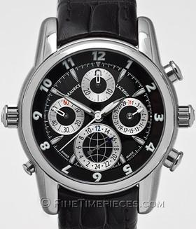 MAURICE LACROIX | Masterpiece Chronograph Globe | Ref. MP6398 - SS 001 - 331