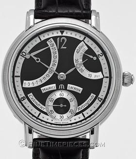 MAURICE LACROIX | Masterpiece Calendrier Rétrograde | Ref. MP 7068 - SS 001 - 390