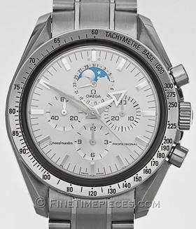 OMEGA | Speedmaster Broad Arrow Weissgoldlünette Mondphase | Ref. 3575 . 30 . 00